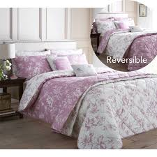 33 wondrous ideas purple toile bedding red design homesfeed pink and white color on bed cover pillows wall lamp hardwood de jouy crib baby