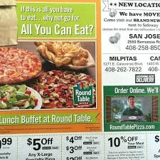 round table turlock specials info pizza today 26