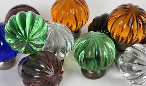 glass cabinet knobs. Melon Glass Knob Series Cabinet Knobs