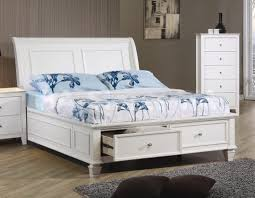 Bedroom: White Full Size Bedroom Sets With Sleigh Bed - Full Size ...