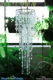 chandelier diamante duo delight sea glass