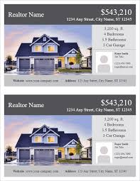 real estate flyer templates real estate flyer template 2 per page by vertex42 com flyers