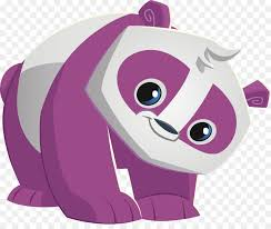 Animal Jam Giant Panda Red Panda Clip Art Wolf Bunny Coloring