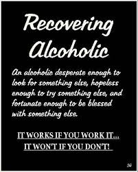 Sobriety Quotes Definition Of A Recovering Alcoholic Sober Custom Alcoholic Quotes