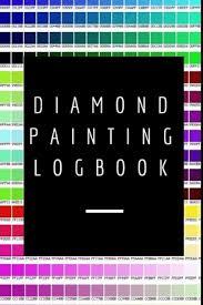 Dmc Color Chart For Diamond Painting Diamond Painting Logbook A Stylish Color Dmc Chart