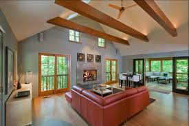 lighting for beams. Lighting For Exposed Beam Ceilings Living Room Contemporary With Grey Walls Fireplace Surround Beams B
