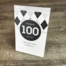 Calendar Countdown Days 100 Day Countdown To Retirement Tear Off Calendar Etsy