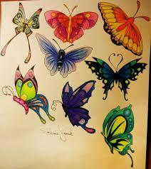 100 úžasné Butterfly Tattoo Vzory Punditschoolnet