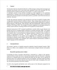 Example Of An Interview Essay Interview Essay Example Template Design Interview Essay