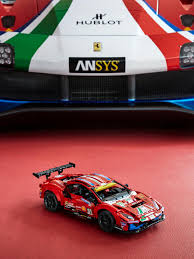 Here's an extract from the press release: Lego 42125 Technic Ferrari 488 Gte Af Corse 51 Looks More Like A Scale Model Than A Lego Model Shouts