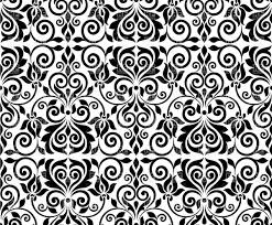 Damask Pattern Free Seamless Damask Background Ornamental Classic Pattern Vector