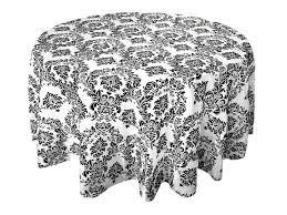 round flocking damask tablecloths enlarge image 90