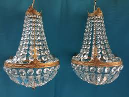 pair of french empire chandeliers c 1920 1 of 7