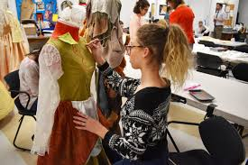 behind the scenes of theatre ink hair makeup and costume design