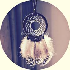 Small Dream Catchers For Sale Double Circle Dream Catcher with Feathers Hanging Decoration 82