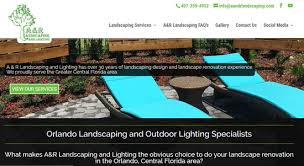 Backyard Landscaping Design Enchanting A And R Landscaping WebHaus Creative