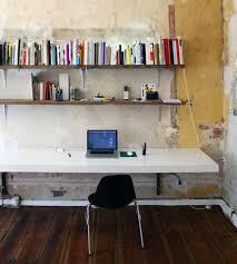 elegant hanging desk shelf space saver 15 wall mounted desks to best diy shelf desk
