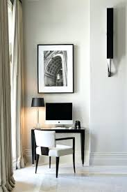 black and white home office. Black White Office Design Small Home Offices Inspirations And C