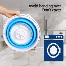 Máy Giặt Mini Tự Động Bằng Sóng Siêu Âm Tiện Dụng tốt giá rẻ