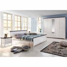 Schlafzimmerset Caruna In Weiß Lasiert Braun Pharao24de
