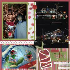 Thoroughbred Christmas Lights 2018 Even More Scrapping Christmas Lights Layout