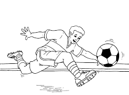 Small Picture Soccer Coloring Pages Coloring Pages Free blueoceanreefcom