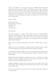 29 Business Management Cover Letter Sample Sample Cover Letter