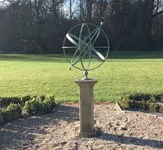 armillary sphere sundial 75cm 30