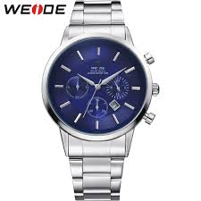 online buy whole tag watches men from tag watches men weide new men costly quartz watches luxury brand sport watch stainless steel fashion casual military relogios