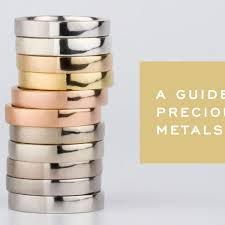 Precious Metals Comparison Corey Egan