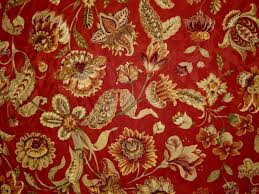 Small Picture 1 Yard Mill Creek Raymond Waites Jacobean Floral BRICK Drapery