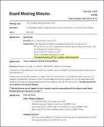 Format For Minutes Writing Informal Business Minutes Sample Meeting Template Free