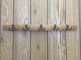 Wine Barrel Stave Coat Rack Stave Coat Rack With Small Double Hooks Live Oak Wine Decor 63