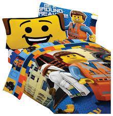 lego bedding set emmet wyldstyle comforter sheets