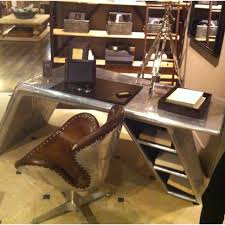 office desk hardware. Modren Office Restoration Hardware Airplane Desk 6045 In Office Ideas 27 Throughout R