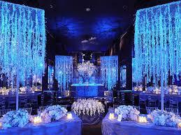 Winter Wedding Decor Wedding Decoration Ideas White Winter Wedding Decor With Round