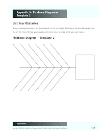 Cause And Effect Diagram Template Word Diagram Template Word Cause And Effect Excel Format Free