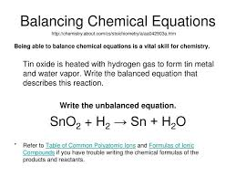 in this reaction what is the correct coefficient for hydrogen gas