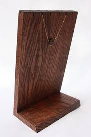Wooden Necklace Display Stands Wooden Jewelry Holders adorn Pinterest Jewellery holder 28