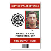 Id Fire Card Department Pvc Emt