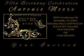 50th Birthday Invitations Templates 50th Birthday Invite Template Postermywall