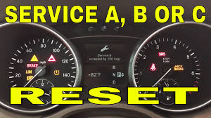 Ml320 Service Light Reset How To Reset Service On Mercedes Ml Gl 2007 2008 2009 2010 2011 2012