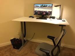 sit stand desks make cable management 20x harder