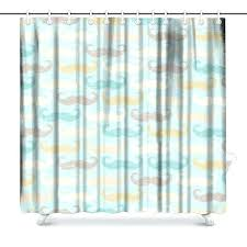retro with mustache bathroom shower curtain accessories x inches curtains and tommy bahama