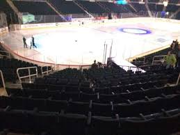 Mts Arena Seating Chart Bell Mts Place Section 109 Row 16 Seat 21 Home Of
