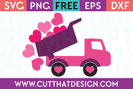 free svg files dump truck with