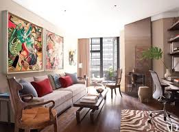 cool animal print rug decorations for living room with wooden flooring and astounding wall art frames for apartment