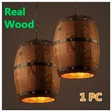 1 PCS <b>Retro American</b>-<b>style</b> Real Wood Wine Barrel Hanging ...