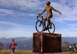 A Montecampione una statua di oltre 6 metri per ricordare Marco Pantani -  BICITV