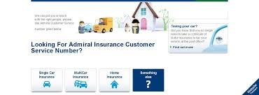 0844 385 1330 admiral car insurance customer service number